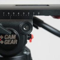 Camgear V15P MS CF Stativ mit Fluid Head