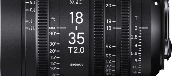 Sigma CINE 18-35mm T2.0 (EF-Mount)