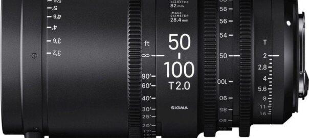 Sigma CINE 50-100mm T2.0 (EF-Mount)